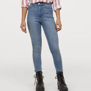 H&M Super Skinny Stretch High Rise Jeans